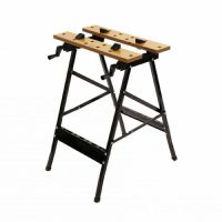 FOLDING WORK BENCH PORTABLE WOOD BENCH WORK CLAMPING WORKTOP DIY FOLDABLE